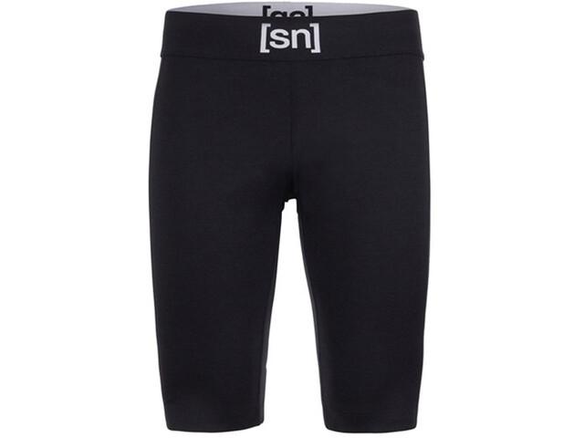 super.natural Active Short Tights Herren jet black